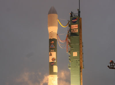 Launch of Aquarius/SAC-D satellite